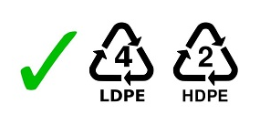 LDPE #4 Recyclable Packaging